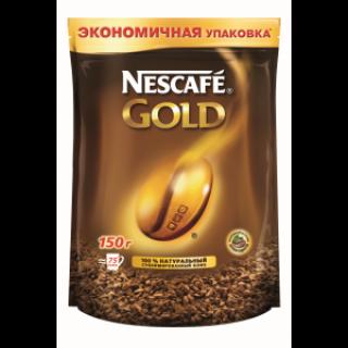 Кофе Нескафе Голд 150Г (м/у)
