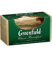 Чай Гринфилд классич. завтрак 25 пак.