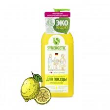 SYNERGETIC для мытья посуды «Лимон» 1л