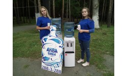 Аква Вива водный партнер в велопрогулке «Крутящий момент»